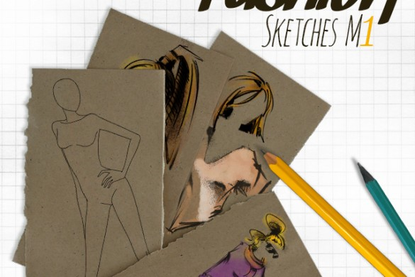 Become a Designer with New Fashion Sketches M1