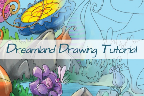 How to Draw a Dreamland with PicsArt Drawing Tools
