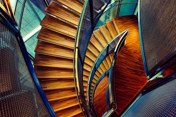 Climbing through Photography: A Photo Gallery of Stairs