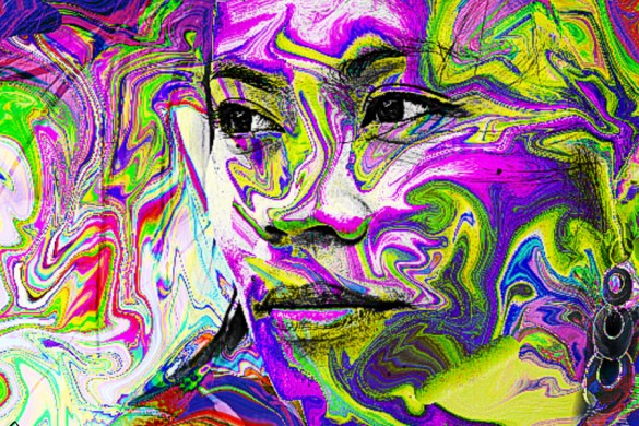 Paolomore Shows You How to Make a Psychedelic Portrait