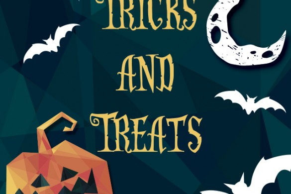 BOO! Download Trick or Treat Clipart and Backgrounds