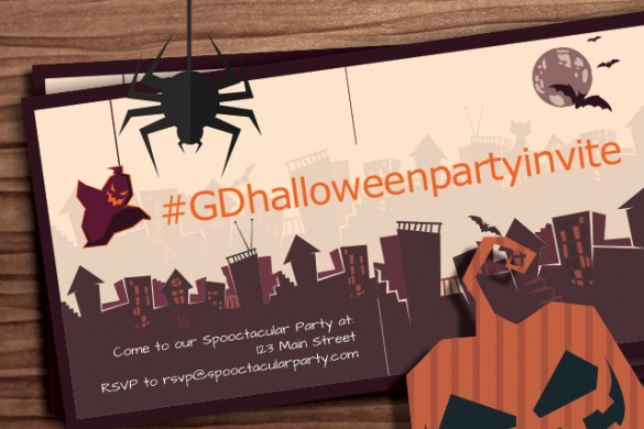 Design a Halloween Party Invitation