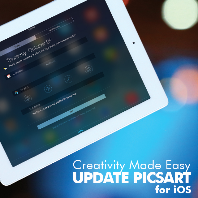 PicsArt Arrives on iOS 8