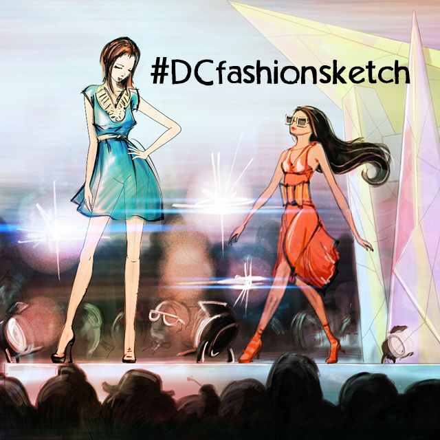 fashion sketch drawing contest