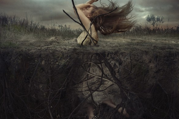 Brooke Shaden's Photos Take you Down the Rabbit Hole