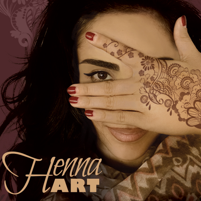 henna tattoo art clipart