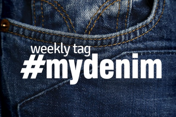 Show Off Your Favorite Jeans with the Weekly Tag #mydenim