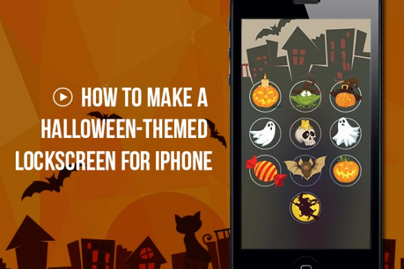 How to Make a Halloween-themed Lockscreen for iPhone