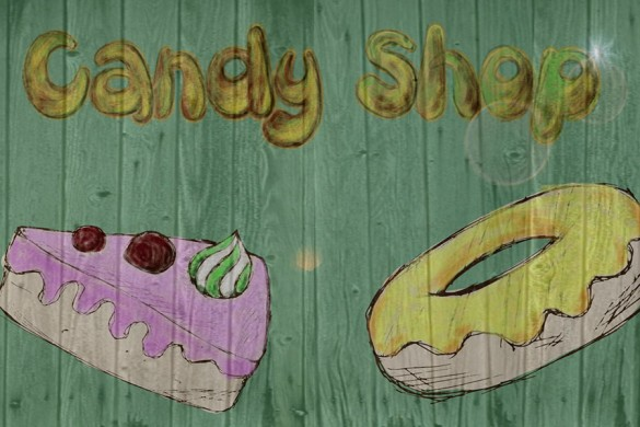 10 Winners from the Candy Shop Poster Graphic Design Contest