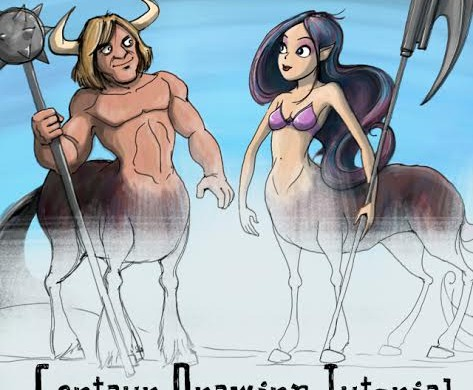 How to Draw a Magnificent Centaur with PicsArt