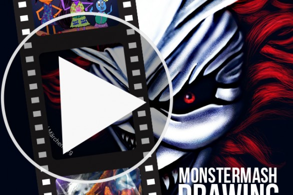 Users Share Monster Mash Time-Lapse Videos