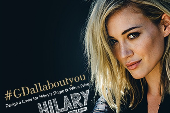 """Design Cover Art for New Hit """"All About You"""", Win Prize from Hilary Duff Herself"""