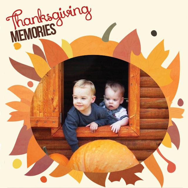 thanksgiving memories frames
