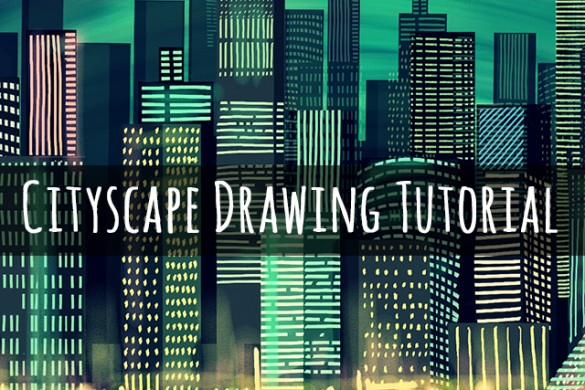 How to Draw a Cityscape with PicsArt