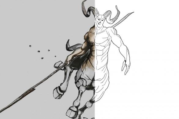 Users Share Centaur Drawing Tutorials