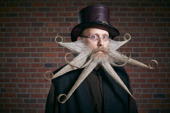 Greg Anderson Captures the World Beard & Mustache Championship