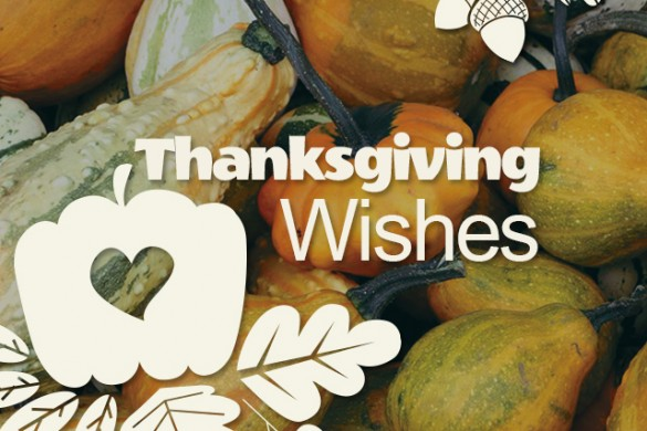 Download Thanksgiving Wishes Just in Time for the Big Day