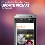 Android update for picsart free to edit