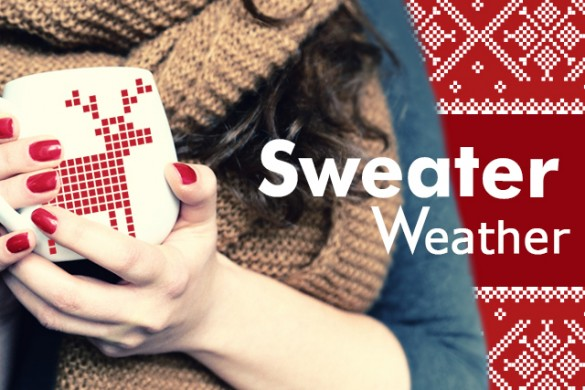 Bundle Up and Download our Sweater Weather Clipart Package