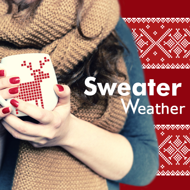 Sweater weather clipart package in picsart