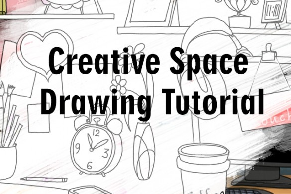 How to Draw your Creative Space with PicsArt