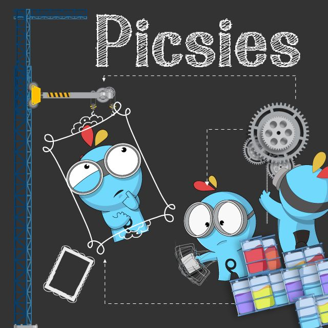 PicsArt picsies clipart package
