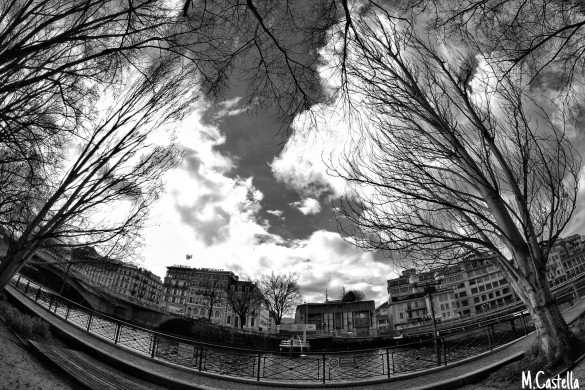 Through the Fish-Eye of Mehdy Castella: A Photo Gallery