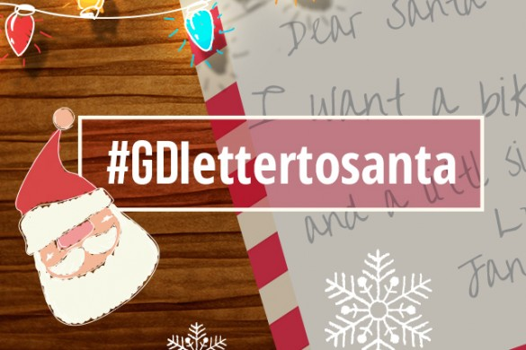 Avoid the Naughty List with the #GDlettertosanta Graphic Design Contest