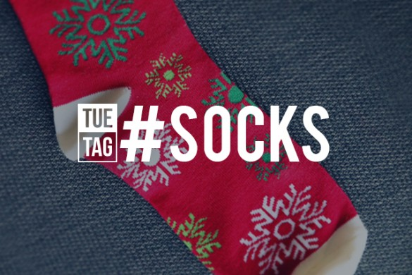 Show Off Your Snuggly Toes with TUEtag #socks
