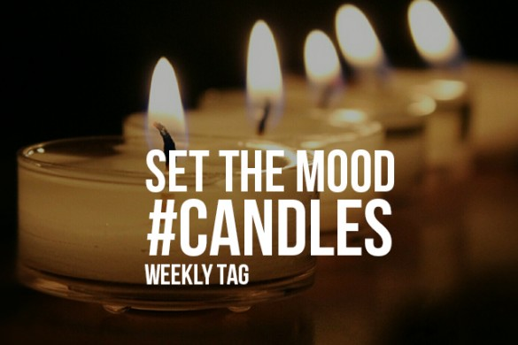 Set the Mood with the Weekly Tag #candles