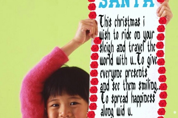 Winners of the Letter to Santa Graphic Design Contest
