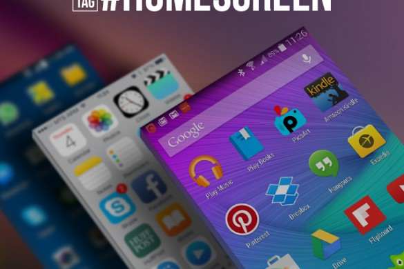 Get Your Homescreen Featured with the Thursday Hashtag #homescreen