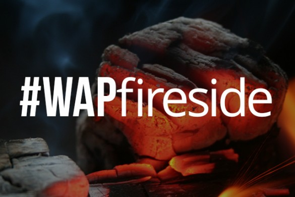 Keep Warm This Weekend with the #WAPfireside Weekend Art Project