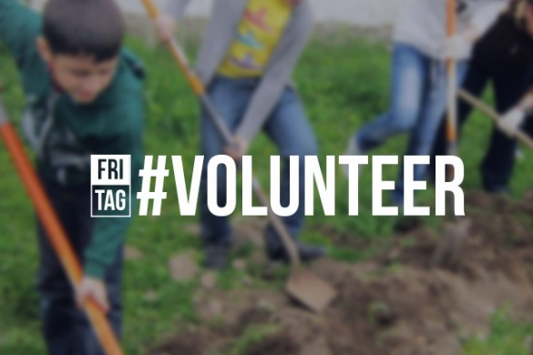 Celebrate International Volunteer Day with the Friday Hashtag #volunteer