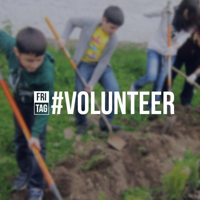 PicsArt Friday hashtag #volunteer