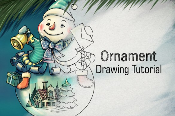 How to Draw a Perfect Holiday Ornament