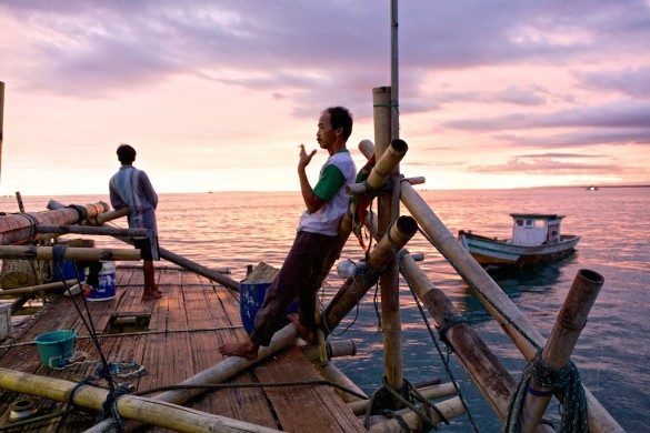 Life in the Floating Fishing Villages of Indonesia