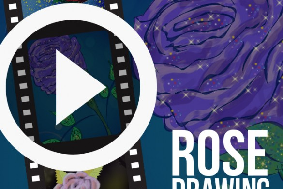 Users Share Time-Lapse Videos of Rose Drawings