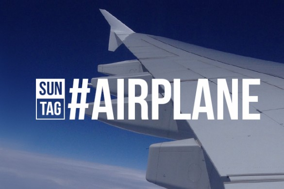 Celebrate Your Inner Jetsetter with the Sunday Hashtag #airplane