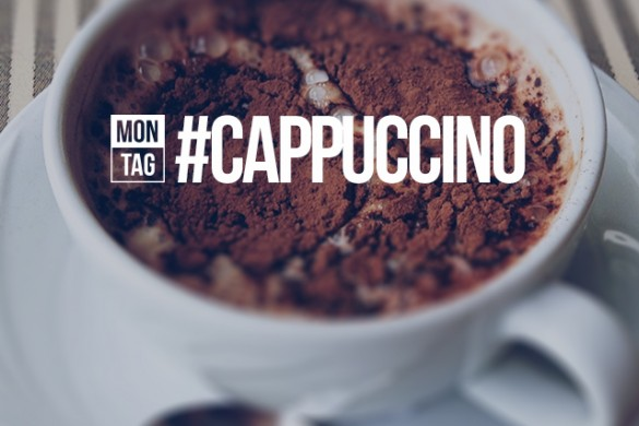 Share Your Morning Moment with the Monday Hashtag #cappuccino
