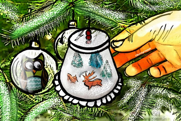 Top 10 Ornaments from the Drawing Challenge