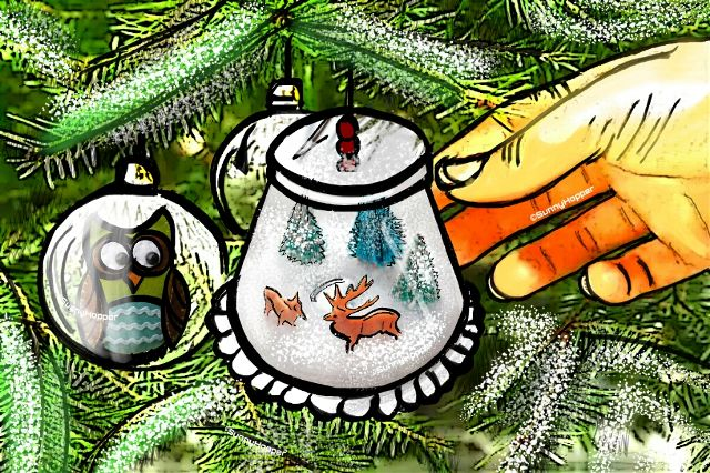 ornament drawing contest winners