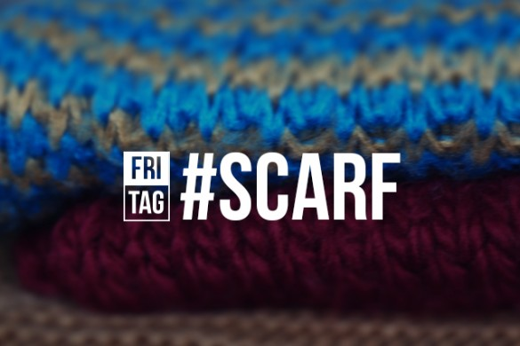 Show Us How You Accessorize with the Friday Hashtag #scarf