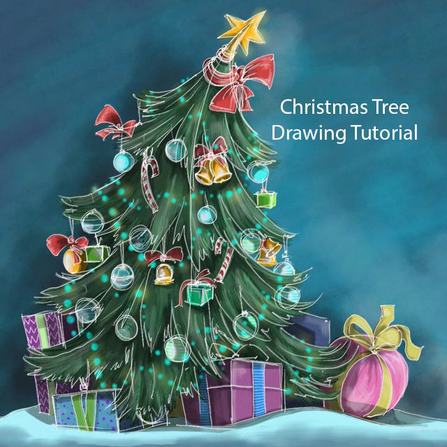 Christmas Background Picsart.How To Draw A Christmas Tree With Picsart Create