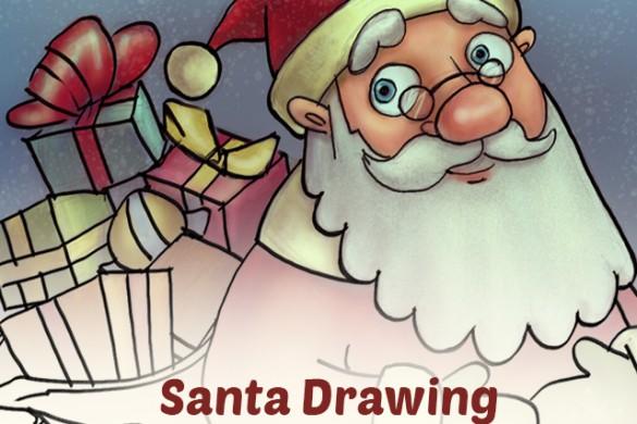 How to Draw Santa Using PicsArt
