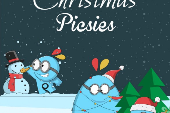 We're Offering Christmas Picsies Clipart Free in the Shop