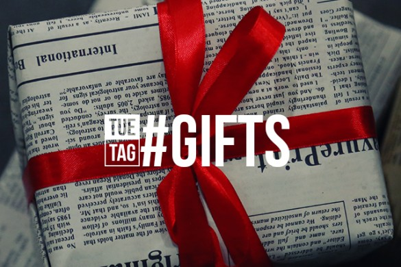 Share Your Beautifully Wrapped Gifts with the Tuesday Hashtag #gifts