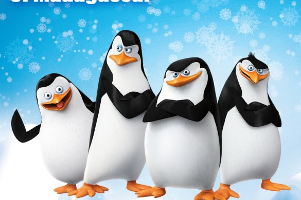 Penguins of Madagascar Clipart & Backgrounds Package