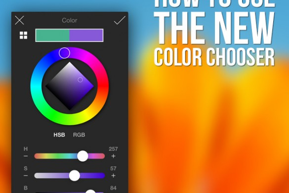 Tutorial: How to Use the New Color Chooser