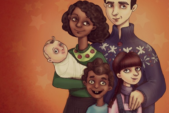 Draw a Family Portrait with PicsArt for this Week's Challenge
